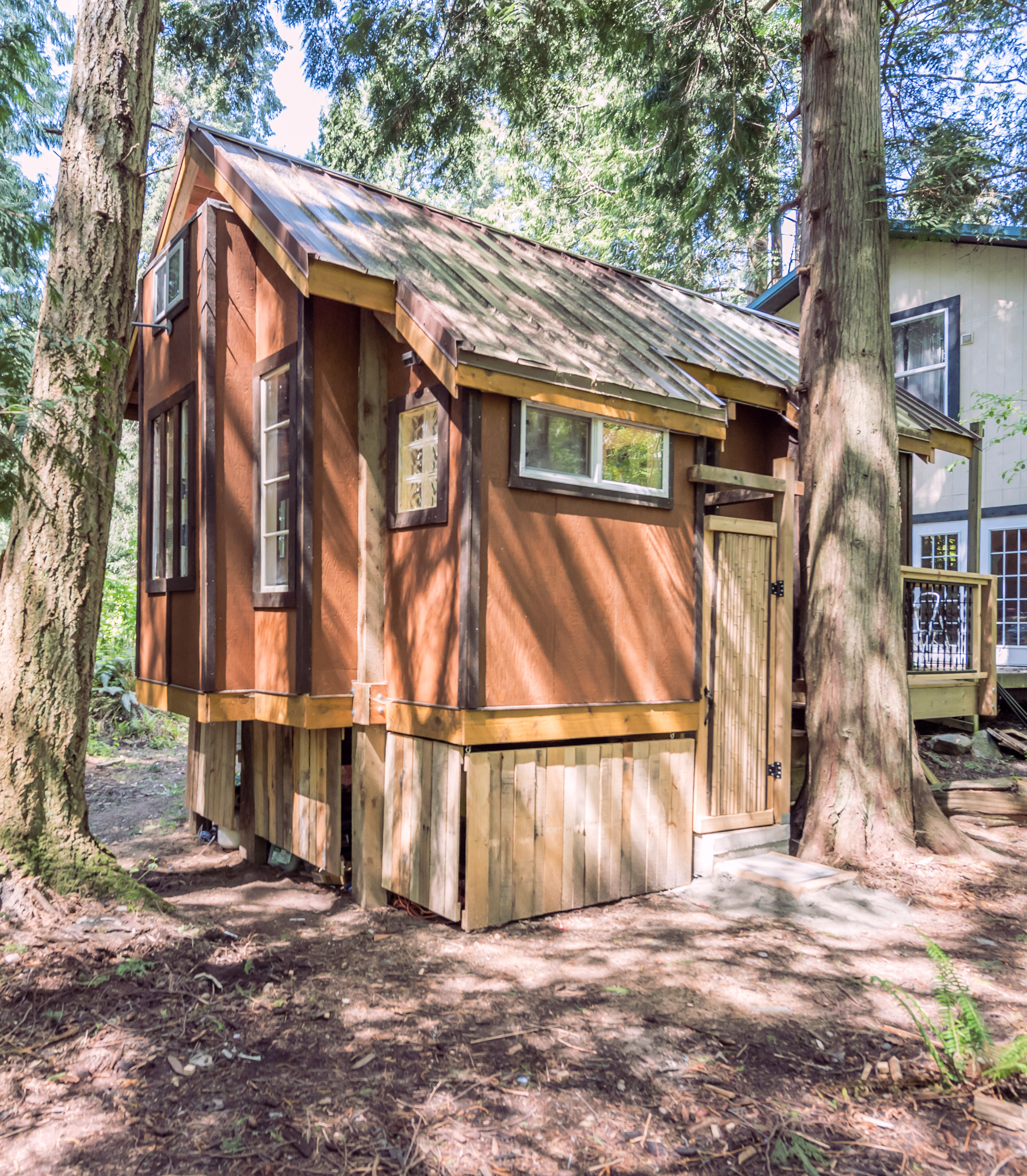 The Treehouse cottage offers the ultimate in holiday rentals